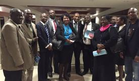 Meeting with Members of Parliament - lobbying for the passing of the Copyright Bill